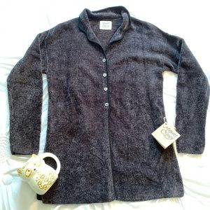 NWT Margaret O'Leary chenille cardigan
